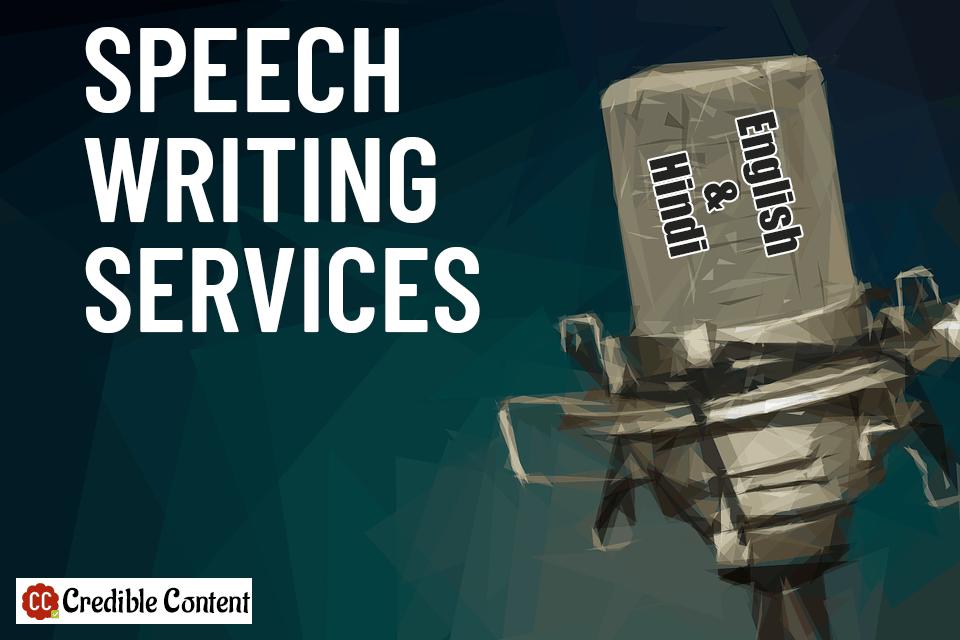Speech writing services – speech writer – English and Hindi