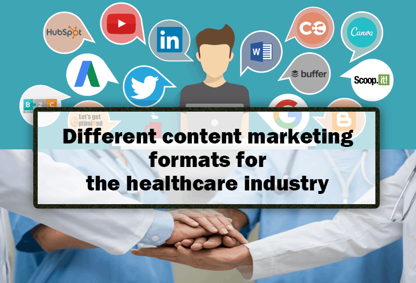 Different content marketing formats for the healthcare industry