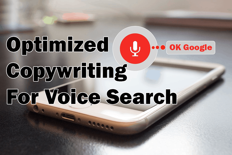 Optimized copywriting for voice search