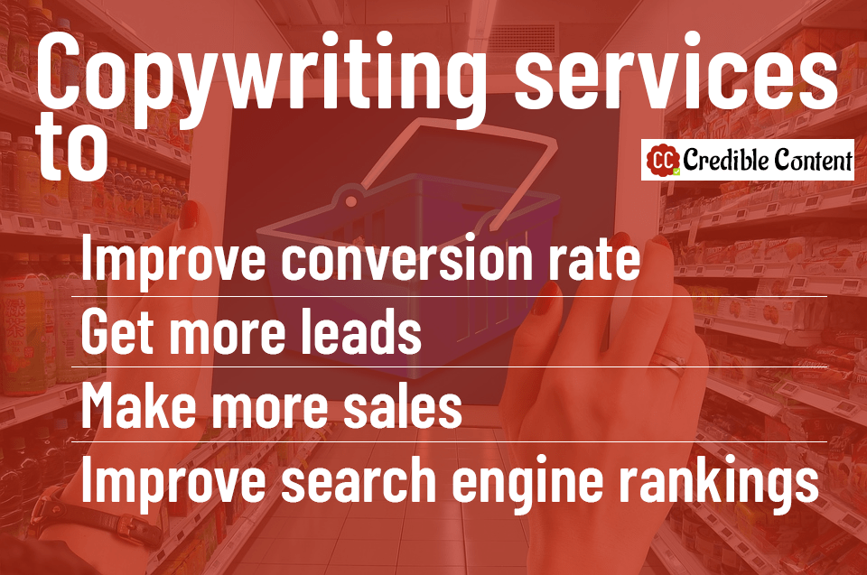 Copywriting services to increase leads and sales