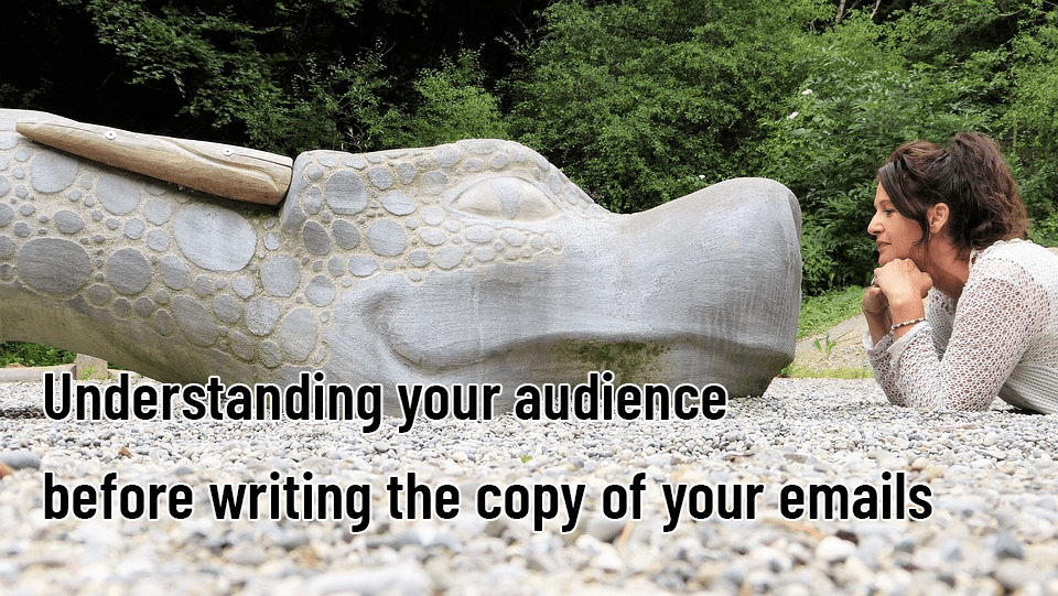 Understanding your audience before writing the copy of your emails