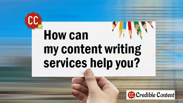 How can the list of my content writing services help you?