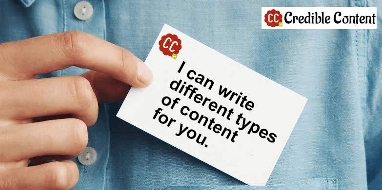 I can write different types of content for you