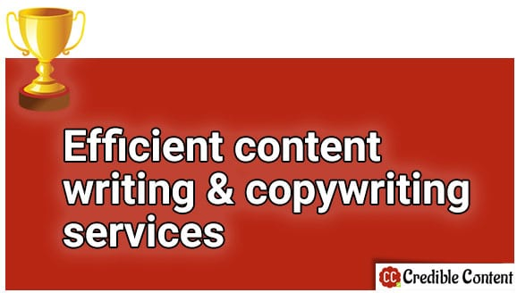 Efficient content writing and copywriting services