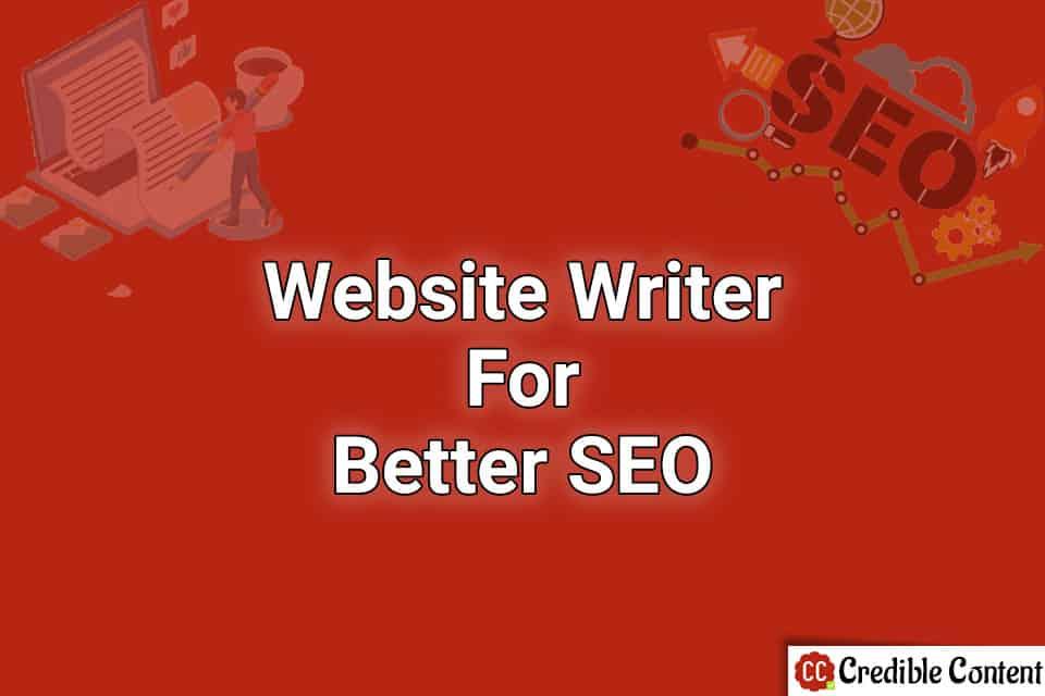 Website writer for better SEO