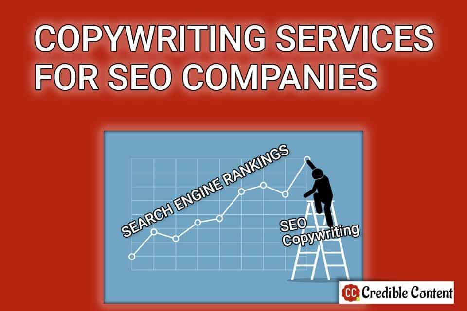 Copywriting services for SEO companies