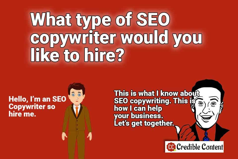 What type of SEO copywriter would like to hire
