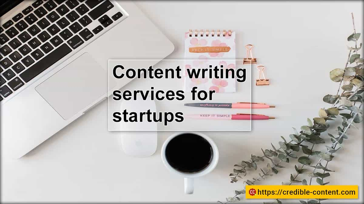 Content writing services for startups